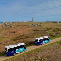 Minibus pointe de Pern - photo Bernard Pronost