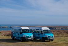 2 Minibus 15 places - Crédit photo Bernard Pronost